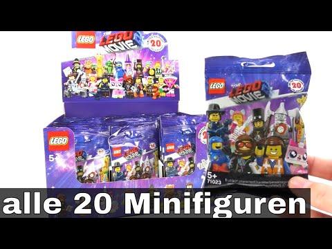 Alle 20 The LEGO Movie 2 & Wizard of Oz Minifiguren / unboxing / 71023