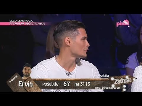 Zadruga 2 - Marko Marković u studiju pred ulazak u Zadrugu 2 - 22.12.2018.