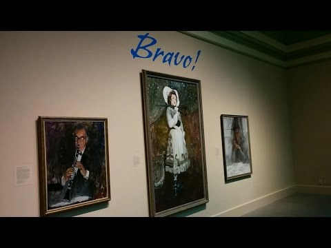 Bravo exhibit at the National Portrait Gallery in Washington, DC