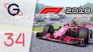 F1 2018 : MODE CARRIÈRE FR #34 - J'ai le seum ! (Belgique)