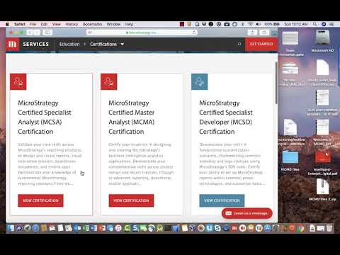 Video Tutorial - How to prepare to take a MicroStrategy ...