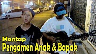 Suara Emas Pengamen Cilik Anak dan Bapak , Merdu Enak Banget (Ngamen dari Semarang Hingga Jogja)