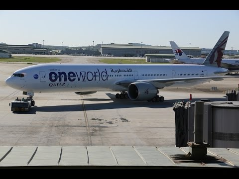 Qatar Airways Boeing 777-300er, Doha - Kuala Lumpur in Business Class