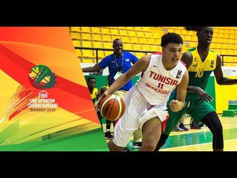 Tunisia v Rwanda - Full Game - FIBA U18 African Championship 2018