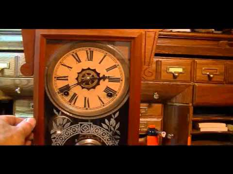 Antique Clock with Alarm - Pocket Full of Time - (281) 755-4377