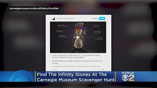 Find The Infinity Stones At The Carnegie Museum Of Natural History's Avengers Scavenger Hunt