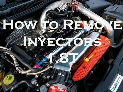 How to remove inyectors in a 18t Engine Jetta/Passat/Cupra/Gti