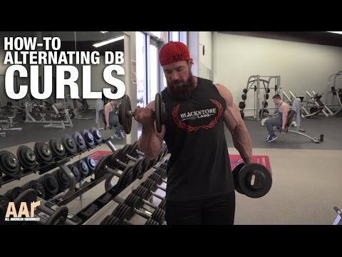 Seth Feroce How-To: Alternating Dumbbell Curls