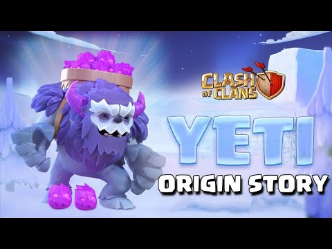 The Yeti Origin Story - Clash Of Clans Backstory (December Update 2019) - New CoC TH13 Troop Story