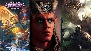 Baldur's Gate 3 vs. Pathfinder vs. Solasta (CRPGs of 2021)