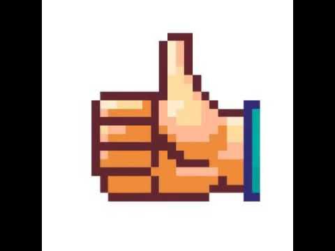 Draw to pixel like/рисуем пиксельный Лайк