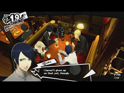 Oh, and No Nude Paintings | Persona 5