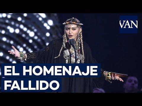 FALLIDO HOMENAJE de Madonna a Aretha Franklin en los MTV