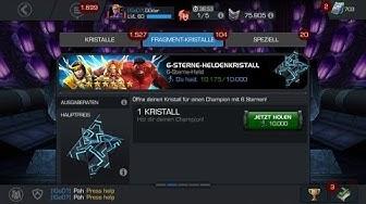 Mein erster 6 Sterne Champion! Und weitere Kristalle! Marvel Sturm der Superhelden