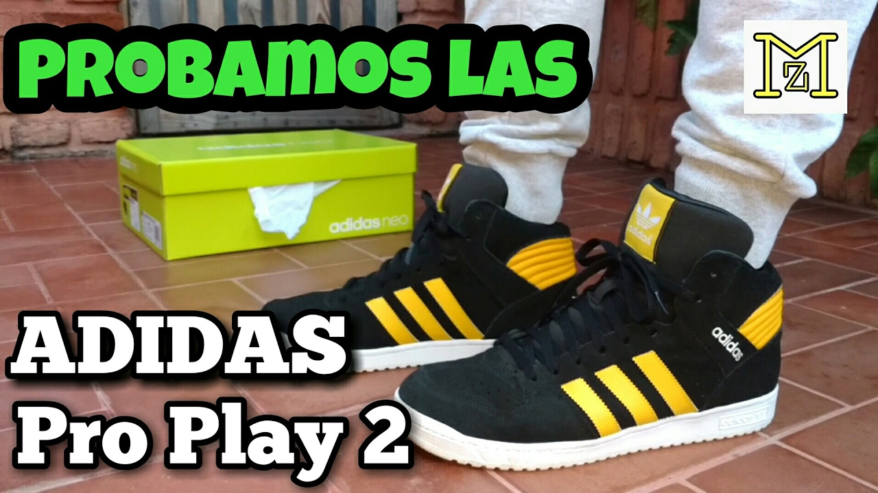 a0495348e58 Review ADIDAS Pro play 2 MID - YouTube