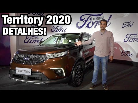 FORD TERRITORY 2020 em Detalhes - Falando de Carro