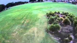 Cobra 2204 2300kv powered H250, my fourth FPV session with flame out at the end