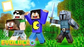 Minecraft: NOVA SÉRIE SURVIVAL DO CANAL?! SERÁ?! (Evolução #1)