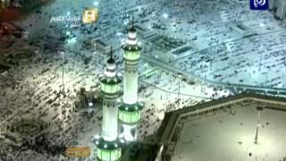 حجاجُ بيت الله الحرام يقضون يومَ التروية في منى قبيلَ وقوفَهم بجبلِ عرفات
