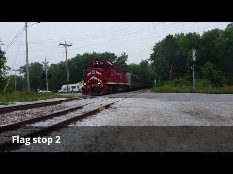 Vermont Railway Employee train chase