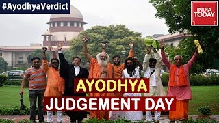 Ayodhya Showdown: After 40 Daily Hearings SC To Give Final Verdict On Ayodhya