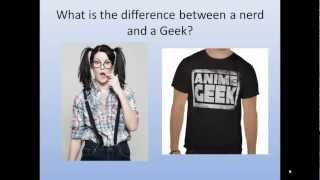 what is the difference between a geek and a nerd by www.acfradio.com