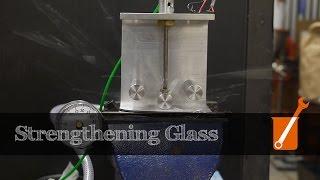 How to chemically strengthen glass (eg Gorilla Glass)