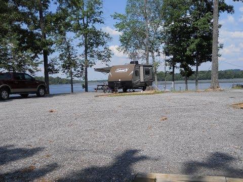 Jackson County Park Camping Scottsboro Alabama