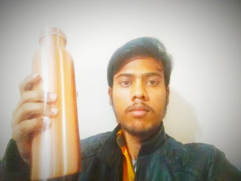 Copper bottle unboxing in hindi