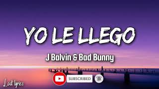 J Balvin ft Bad Bunny- yo le llegó oasis