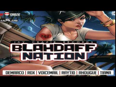 BlahDaff Nation Riddim (Instrumental) Jay Crazie Records