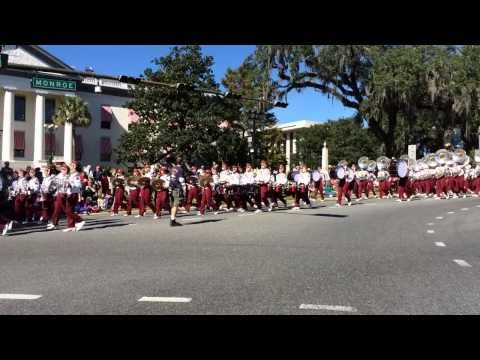 Florida State University Marching Chiefs 2013 Veteran's Day Parade Tallahassee, Florida