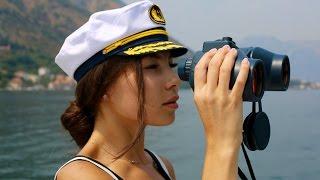 ВЛОГ! Черногория! Яхтинг! VLOG! Montenegro! Yachting!