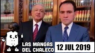 Las Mangas del Chaleco: Renuncia y nombramiento en Hacienda, pleito entre Calderón y Durazo