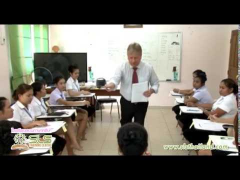 SLS Training Centre(Pattaya), TEFL Teacher Training Video