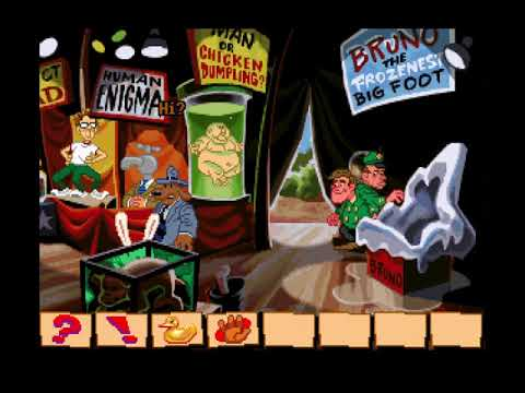 Let's Play Sam and Max Hit the Road 04 - Foot On the Loose |