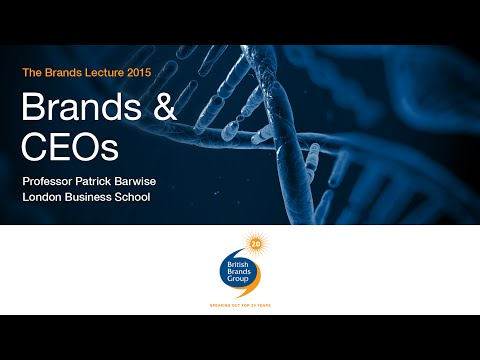 The Brands Lecture 2015: Brands and CEOs