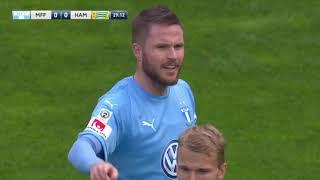 Malmö FF 2 - 1 Hammarby IF Harbuzi hedras av Malmö publiken