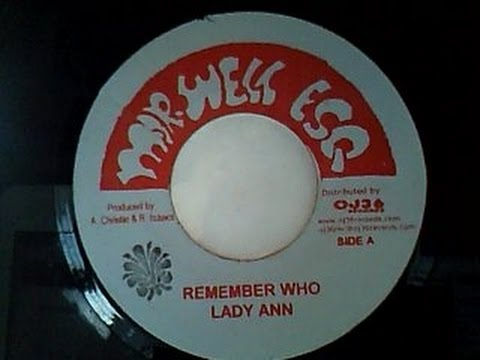 Lady Ann - Remember Who