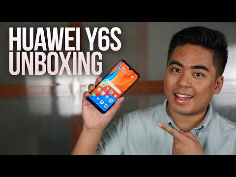 Huawei Y6s Unboxing and Quick Review