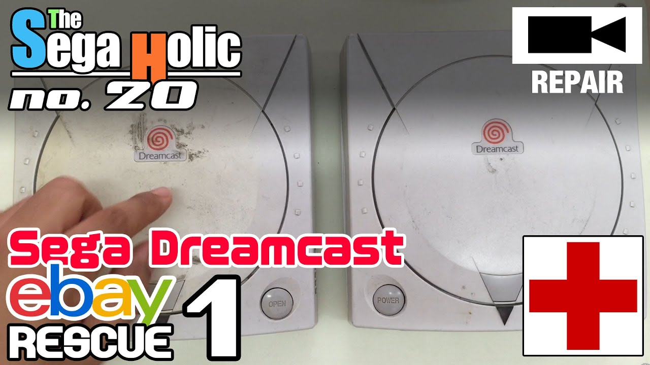 Sega dreamcast ebay rescue 1 sh no 20 youtube