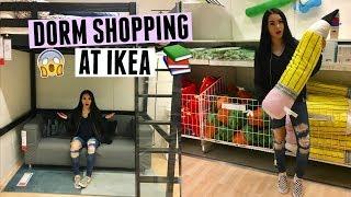 DORM SHOPPING AT IKEA (VLOG) | Megan Mauk ♡
