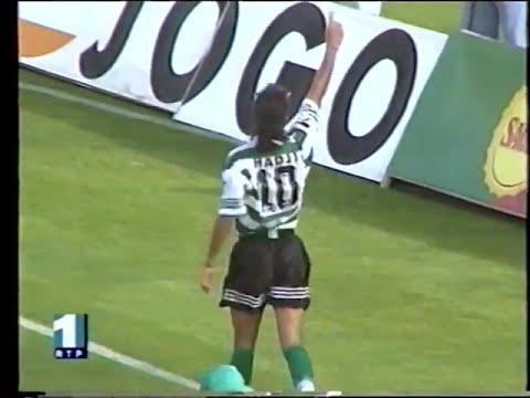 22J :: Sporting - 1 x Leça - 0 de 1996/1997