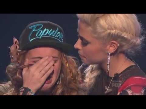 Beatrice Miller Got Eliminated  THE X FACTOR USA 2012