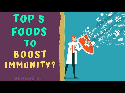 TOP 5 FOODS TO BOOST IMMUNITYHow to boost immune System Naturally?