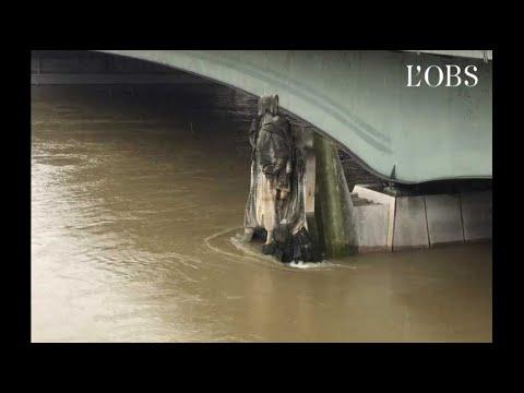 Paris : le niveau de la Seine continue de monter