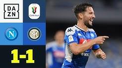Rekordtorschütze Mertens schießt Neapel ins Finale: Neapel - Inter Mailand 1:1 | Coppa Italia | DAZN