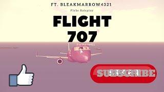 Flybe - Flight 707 | Roleplay Ft. BleakMarrow4321 | ROBLOX