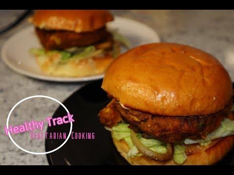 Tasty Pumpkin Chickpea Burgers