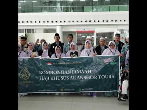 Rutinan majelis roti&sholawat di kantor al anshor tours travel bersama habaib kyai muhibbin..